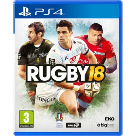 RUGBY 18 - PS4