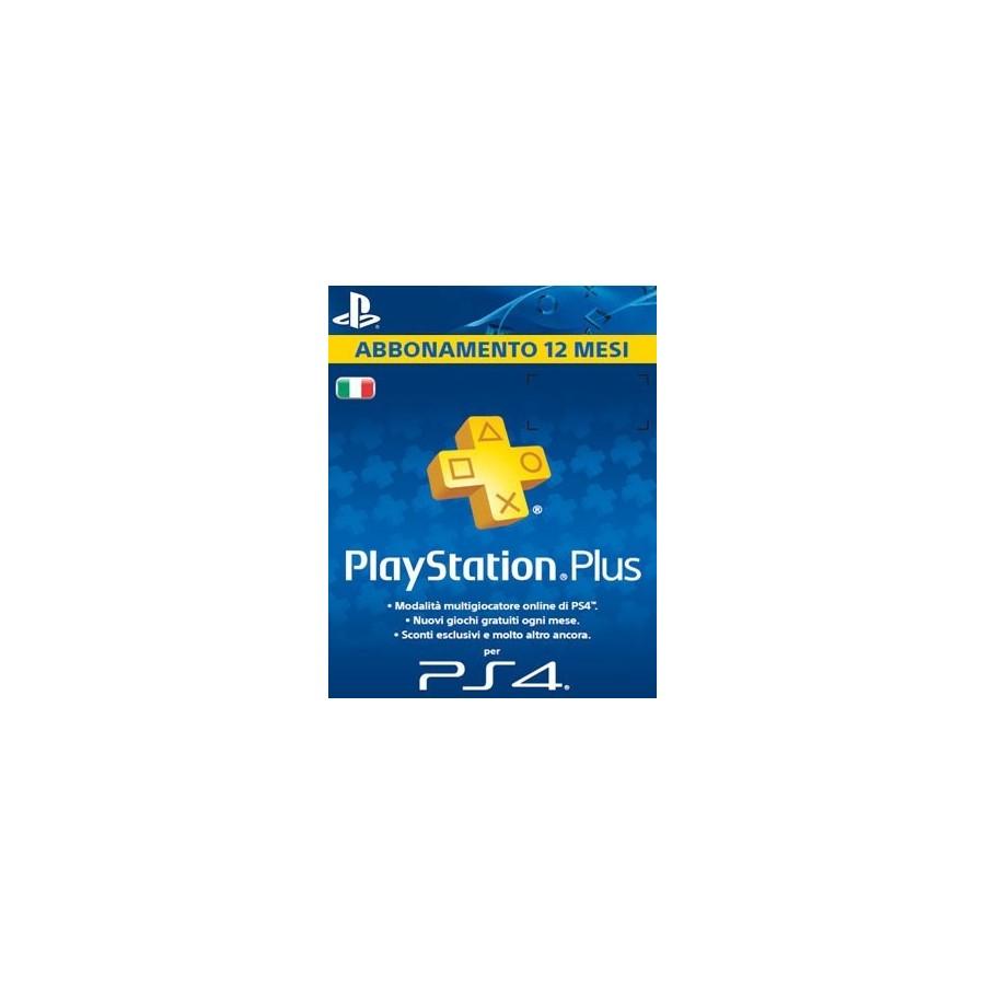 Playstation Plus 12 Mesi