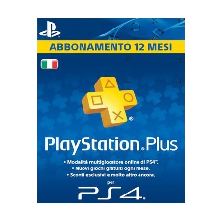 Playstation Plus 12 Mesi - Digitale