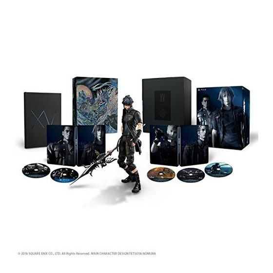 Final Fantasy XV - Ultimate Collector's Edition - PS4
