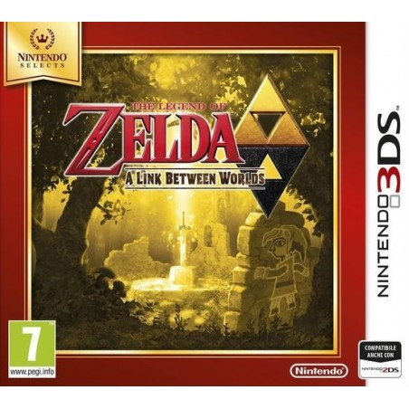 The Legend of Zelda: A Link Between Worlds - Selects - 3DS