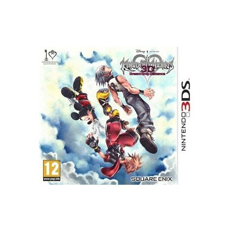 Kingdom Hearts Dream Drop Distance - 3DS usato