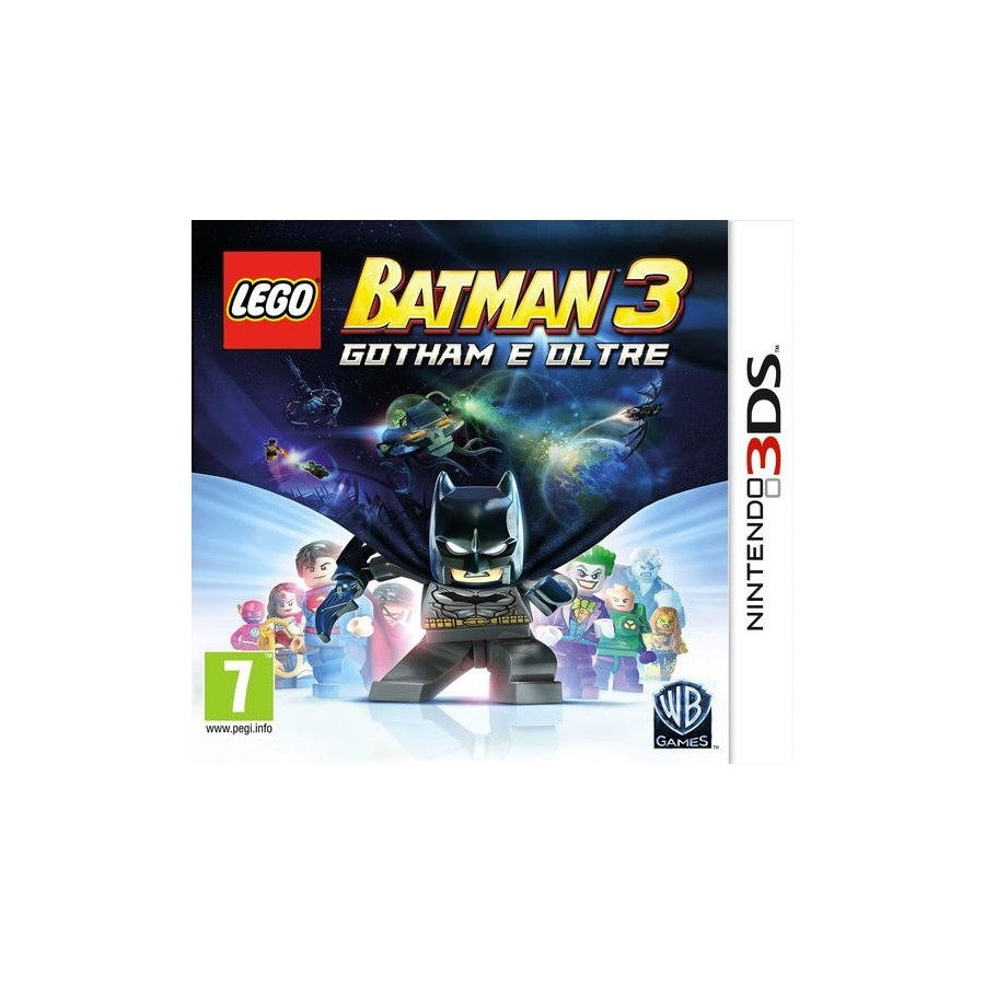 LEGO Batman 3: Ghotam e Oltre per nintendo 3ds