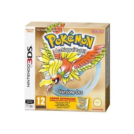 Pokémon Versione Oro - 3DS