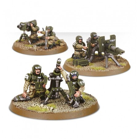 Warhammer 40.000 - Cadian Heavy Weapon Squad