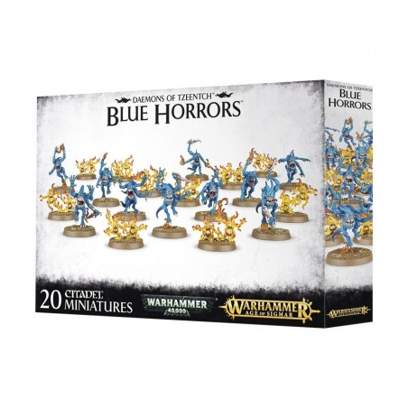 Warhammer Age of Sigmar - Blue Horrors & Brimstone Horrors