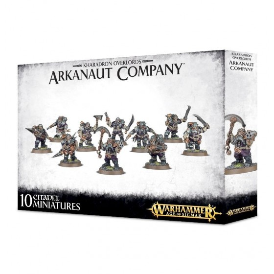 Warhammer Age of Sigmar - Kharadron Overlords Arkanaut Company - The Gamebusters