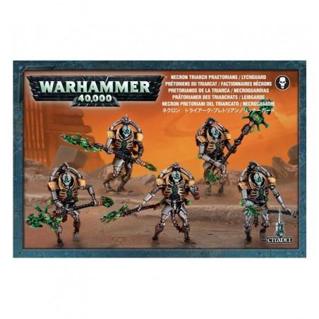 Warhammer 40.000 - Necron Pretoriani del Triarcato