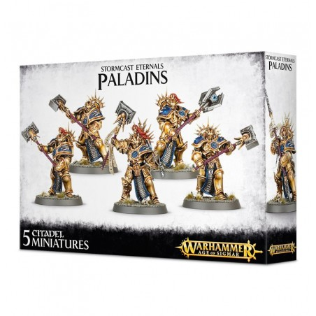 Warhammer Age of Sigmar - Paladins Retributors