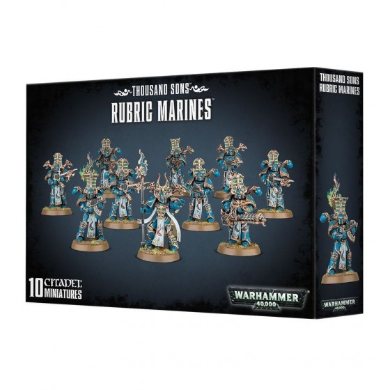 Warhammer 40.000 - Thousand Sons Rubric Marines - The Gamebusters