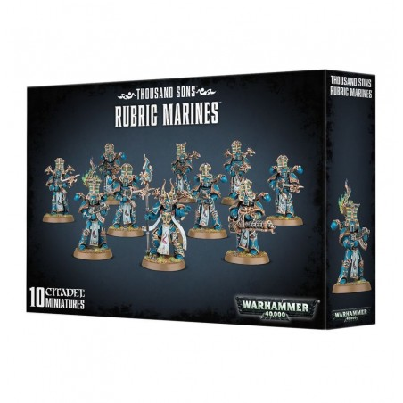 Warhammer 40.000 - Thousand Sons Rubric Marines