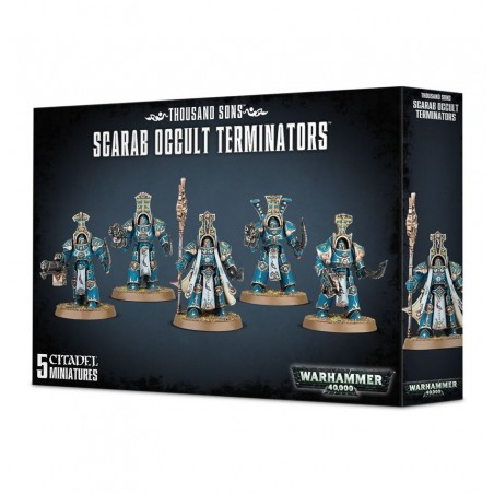 Warhammer 40.000 - Thousand Sons Scarab Occult Terminators