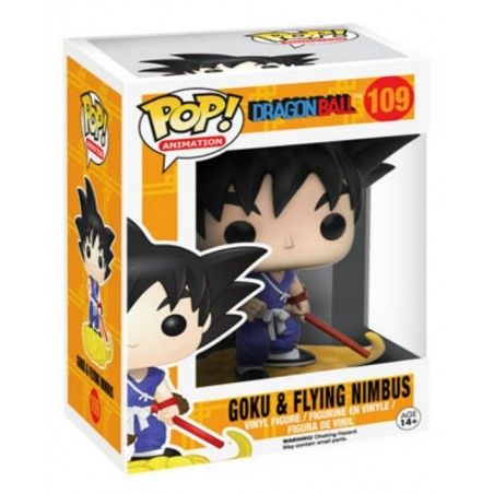 Funko Pop Animation! - Goku & Flying Nimbus Drabon Ball Z