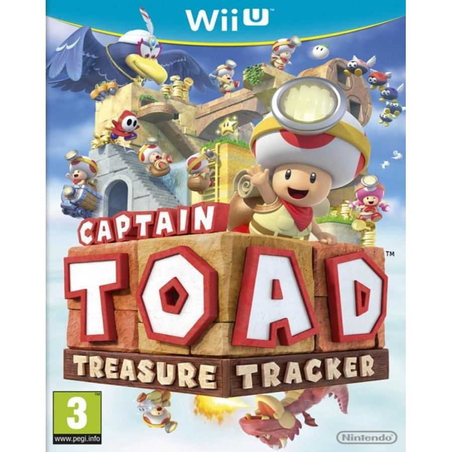 Captain Toad Treasure Tracker - WiiU