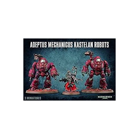 Warhammer 40.000 - Adeptus Mechanicus Kastelan Robots - The Gamebusters