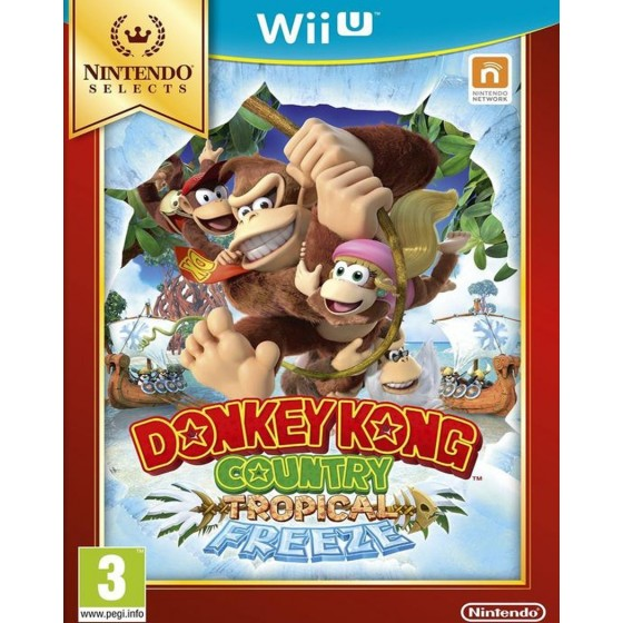 Donkey Kong Country: Tropical Freeze - Selects - WiiU