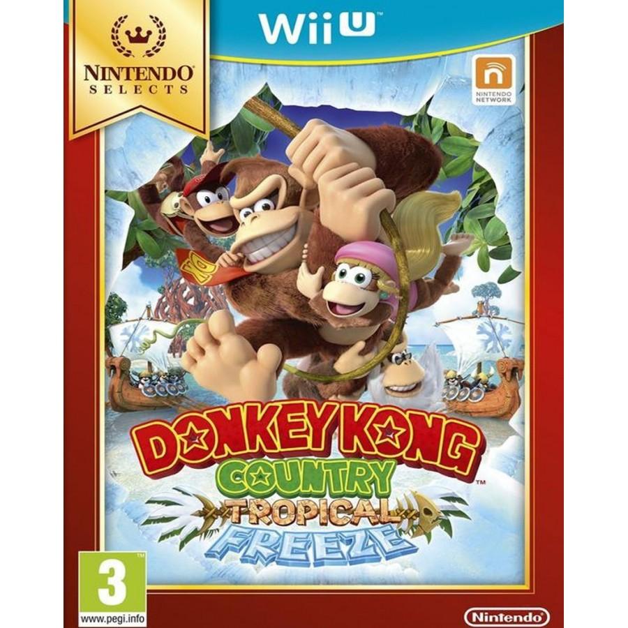 Donkey Kong Country: Tropical Freeze - Selects - WiiU