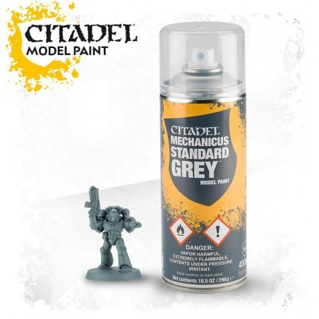 Citadel Spray Mechanicus Standard Grey