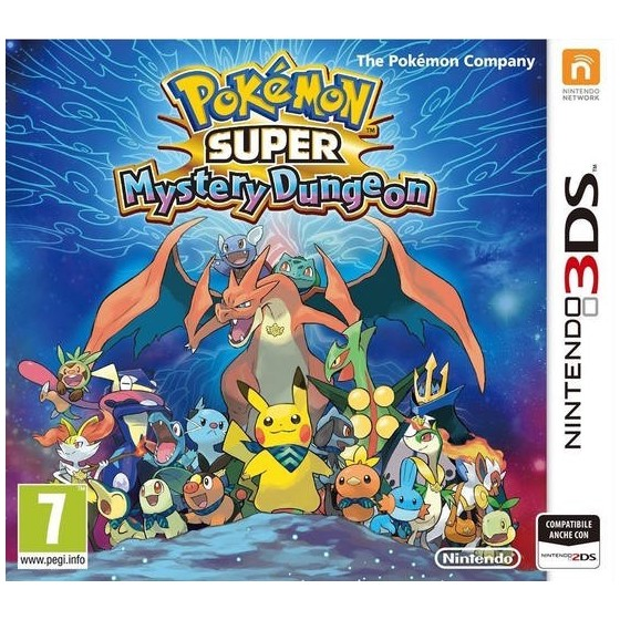 Pokémon Super Mystery Dungeon - 3DS