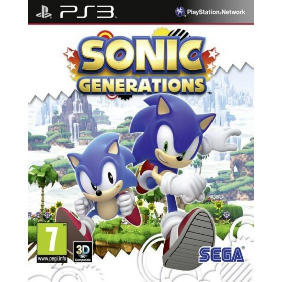 Sonic Generations - PS3 usato