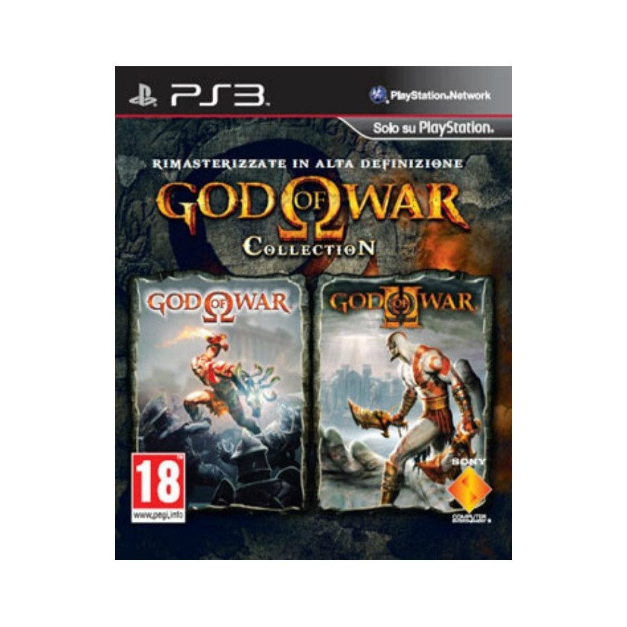 God of War Collection (1+2 in HD) - PS3