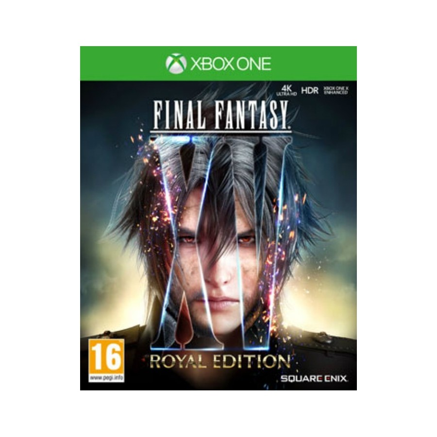 Final Fantasy XV - Royal Edition xbox one the gamebusters