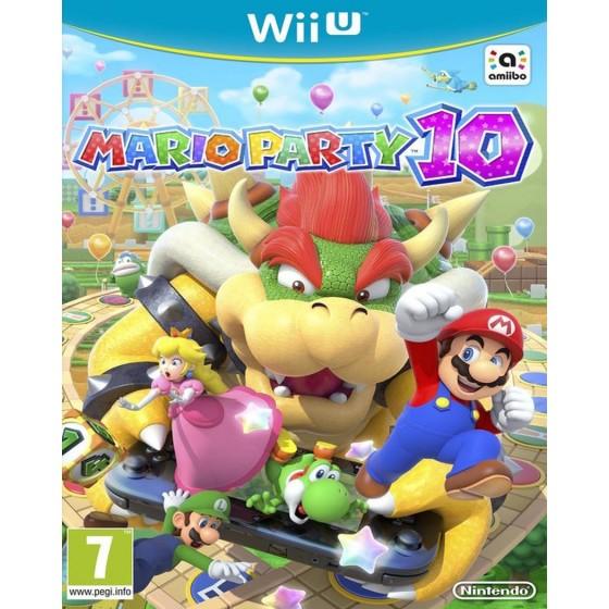 Mario Party 10 - WiiU usato