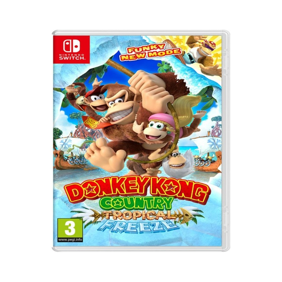 Donkey Kong Country: Tropical Freeze - Switch