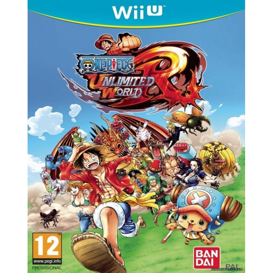 One Piece Unlimited World Red per wii u