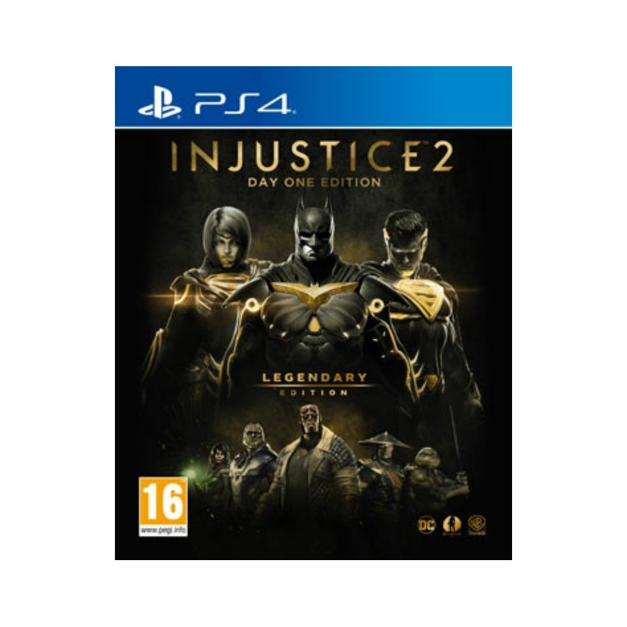 Injustice 2: Legendary Edition ps4