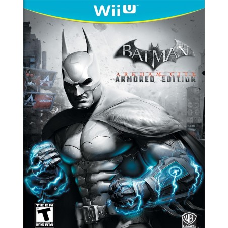 Batman Arkham City - Armored Edition - WiiU usato