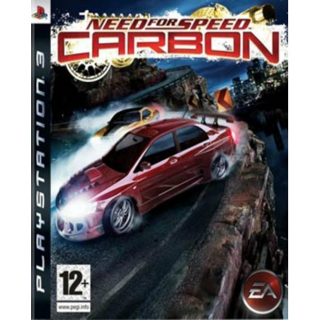 Need For Speed Carbon - PS3 usato