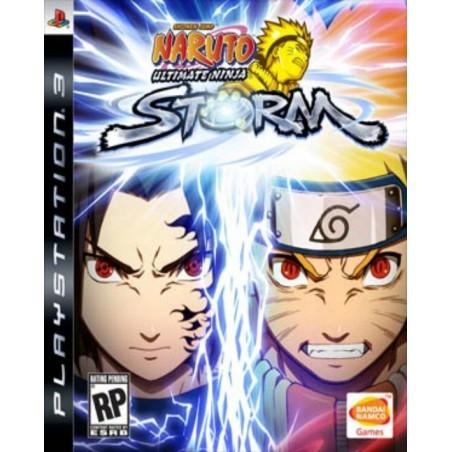 Naruto Ultimate Ninja Storm - PS3 usato