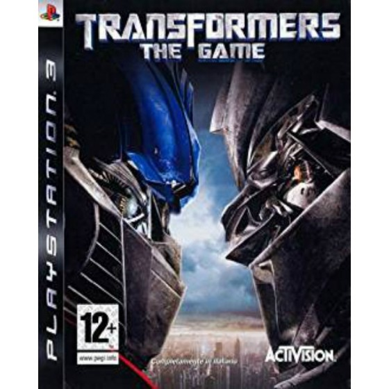 Transformers The Game - PS3 usato