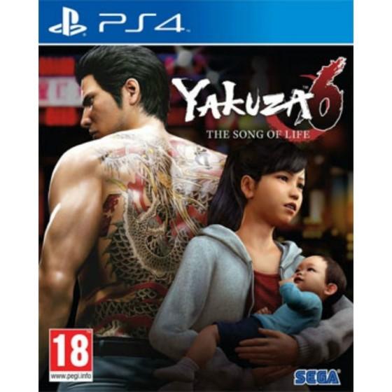 Yakuza 6: The Song of Life - PS4