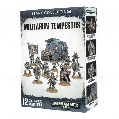 Warhammer 40.000 - Start Collecting Militarum Tempestus - The Gamebusters