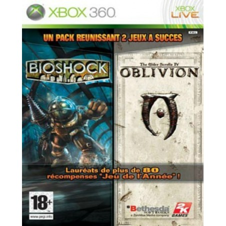 Double Pack Bioshock & Oblivion - Xbox 360