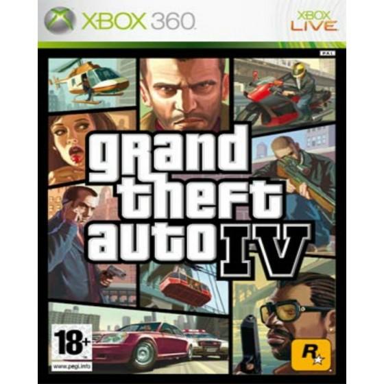 Grand Theft Auto IV - Xbox 360 usato
