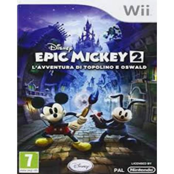 Epic Mickey 2: L'avventura di Topolino e Oswald - Wii usato