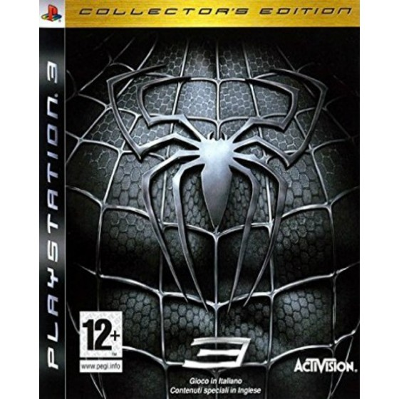Spider-Man 3 - Collector's Edition - PS3