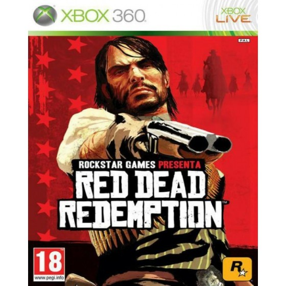 Red Dead Redemption - Xbox 360 usato