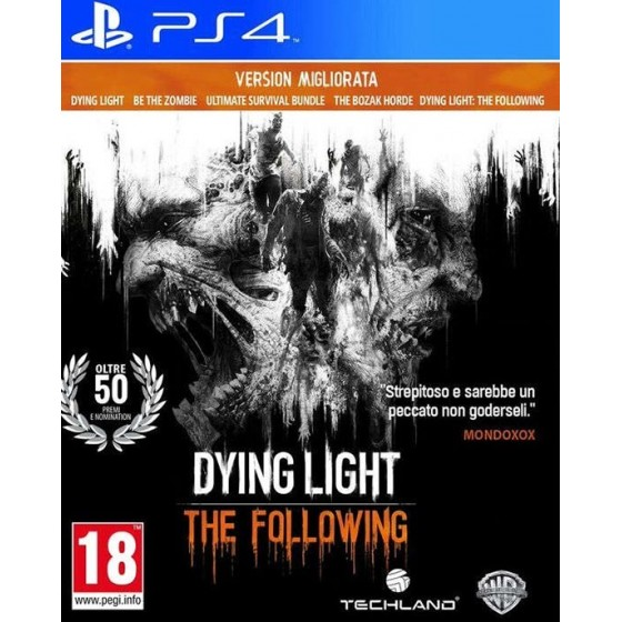 Dying Light The Following - Enhanced Edition - PS4
