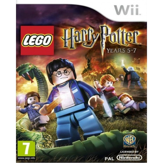 LEGO Harry Potter Anni 5-7 - Wii