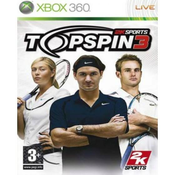 Top Spin 3 - Xbox 360 usato