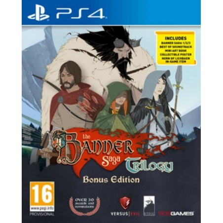 The Banner Saga Trilogy - Bonus Edition - PS4