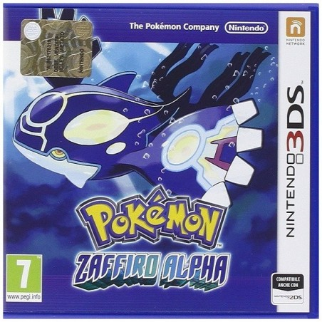 Pokemon Zaffiro Alpha - 3DS