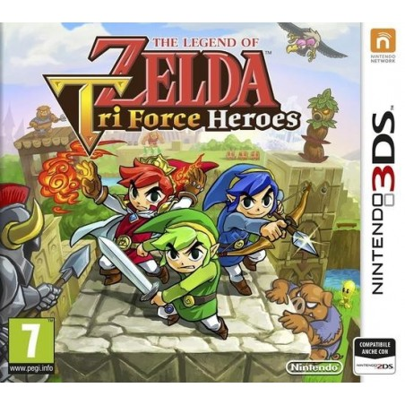 The Legend Of Zelda: Tri Force Heroes - 3DS usato