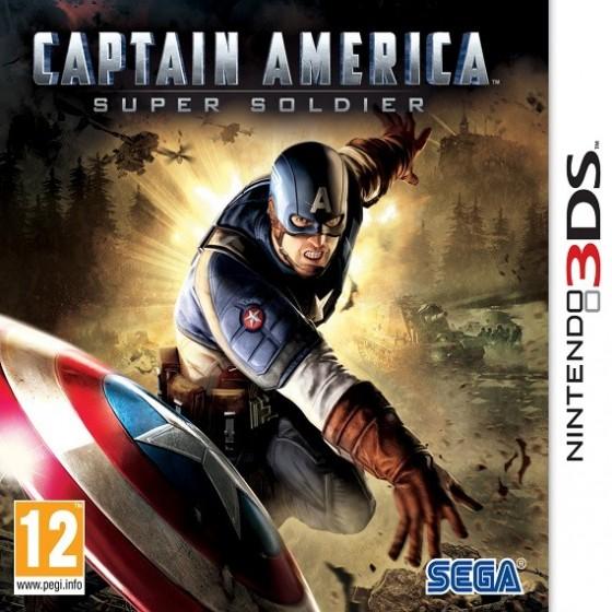 Captain America il Super Soldato nintendo 3ds