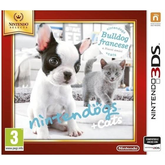 Nintendogs Cats: Buldog Francese - Selects