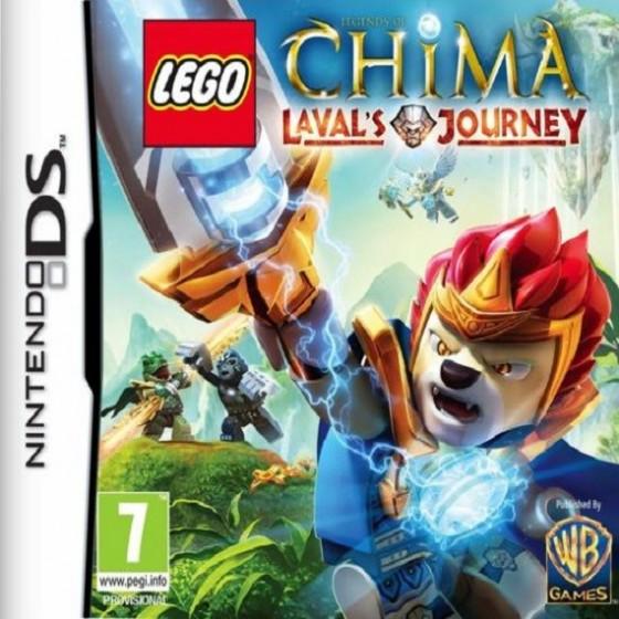 Lego Legends of Chima: Il viaggio di Laval - DS usato